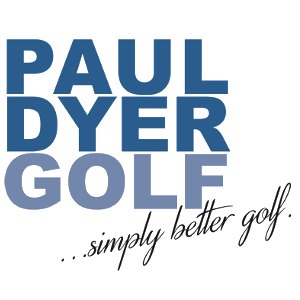 Logo Paul Dyer Golf simply better golf