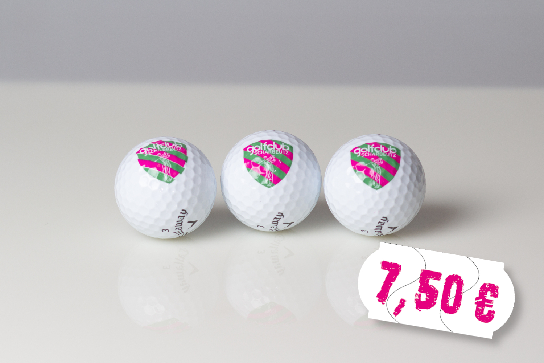 Golfclub Scharbeutz Logobälle 3x